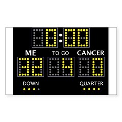 The Score Rectangle Decal