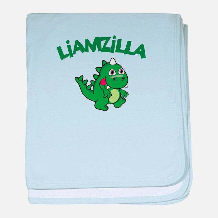 Liamzilla baby blanket