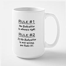Babysitter Large Mug