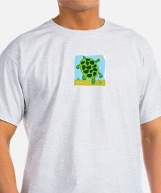 No Such Thing as a Bad Turtle! Ash Grey T-Shirt