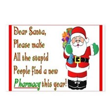Pharmacy Postcards (Package of 8)