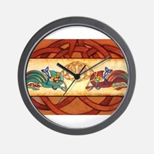 Griffin Guardians Wall Clock