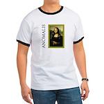 Mona Lisa Anagram Ringer T