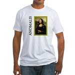 Mona Lisa Anagram Fitted T-Shirt