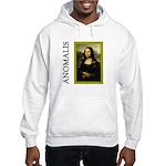 Mona Lisa Anagram Hooded Sweatshirt