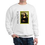 Mona Lisa Anagram Sweatshirt