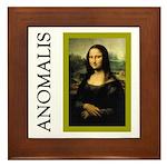 Mona Lisa Anagram Framed Tile