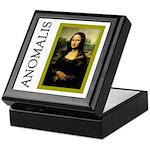 Mona Lisa Anagram Keepsake Box