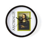 Mona Lisa Anagram Wall Clock
