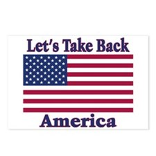 Take Back America Postcards (Package of 8)