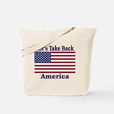 Take Back America Tote Bag