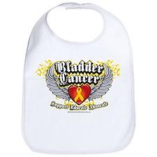 Bladder Cancer Wings Bib