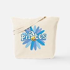 Pilates Flower by Svelte.biz Tote Bag