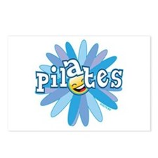 Pilates Flower by Svelte.biz Postcards (Package of