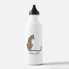 Clouded Leopard Water Bottle