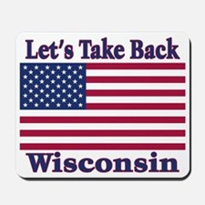 Take Back Wisconsin Mousepad