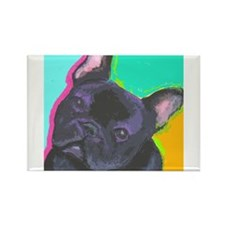 Fun Frenchie Rectangle Magnet (10 pack)