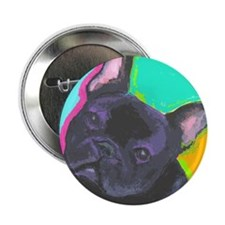 "Fun Frenchie 2.25"" Button"
