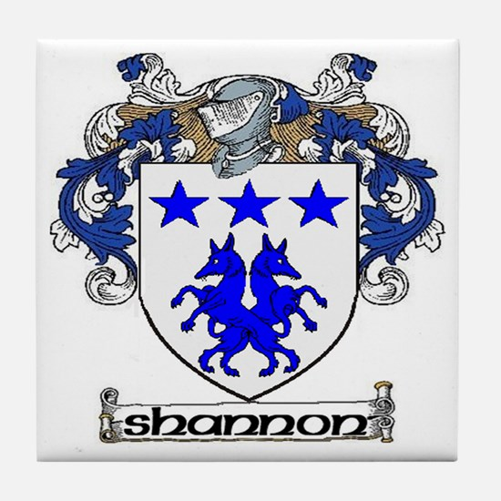 Shannon Coat of Arms Tile