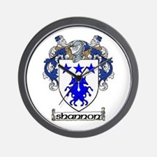 Shannon Coat of Arms Wall Clock