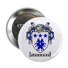 "Shannon Coat of Arms 2.25"" Button (10 pack)"