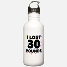 I Lost 30 Pounds! Water Bottle
