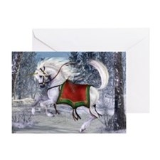 2010 Holiday Unicorn Greeting Card