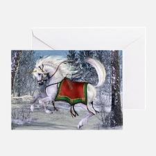 2010 Holiday Unicorn Greeting Card