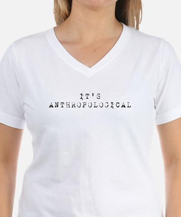 It's Anthropological Shirt