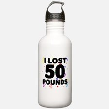 I Lost 50 Pounds! Water Bottle