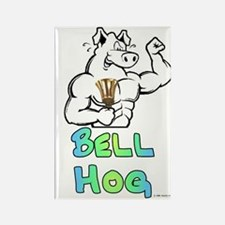 Bell Hog Rectangle Magnet (10 pack)