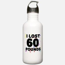 I Lost 60 Pounds! Water Bottle