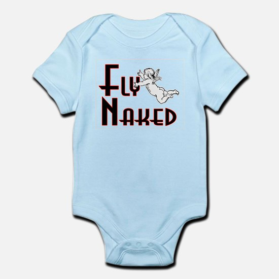 Flying Naked Infant Bodysuit