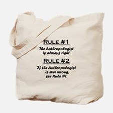 Anthropologist Tote Bag