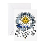 Purves Clan Badge Greeting Cards (Pk of 10)