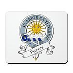 Purves Clan Badge Mousepad