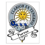 Purves Clan Badge Small Poster