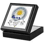Purves Clan Badge Keepsake Box