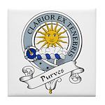 Purves Clan Badge Tile Coaster