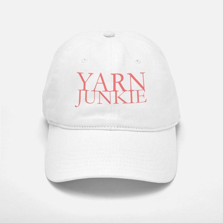 Yarn Junkie Baseball Baseball Cap