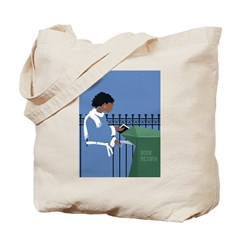 Snowy Return Tote Bag