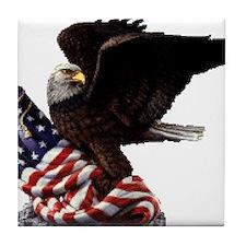Eagle's America Tile Coaster