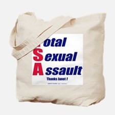 Total Sexual Assault 2-sided Tote Bag