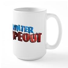 Winter Wipeout Large Mug