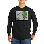 WTD Holiday - Megapickles Long Sleeve Dark T-Shirt