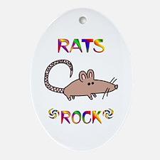 Rat Ornament (Oval)
