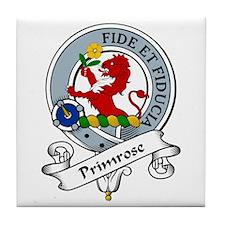 Primrose Clan Badge Tile Coaster