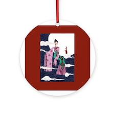 Chang E Ornament (Round)