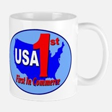 First In Commerce Mug
