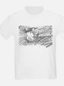 Guitar Sketch Kids T-Shirt